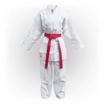 Karate Uniform, Saman, Kumite without belt, white, cotton/poly