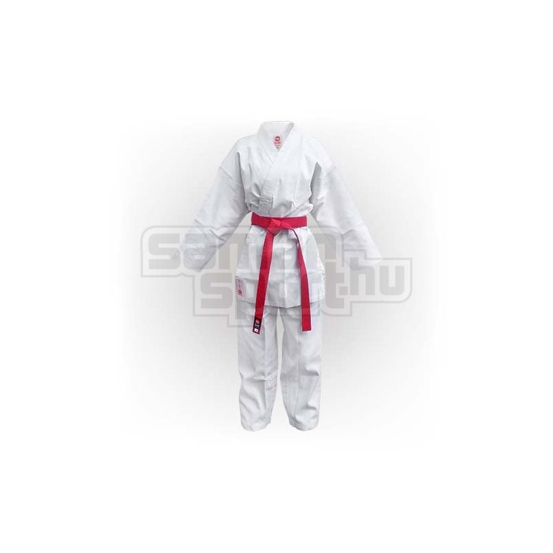 66f5ad00f6 Karate ruha, Saman Kumite, fehér, bordás poly/pamut | SamanSport.hu