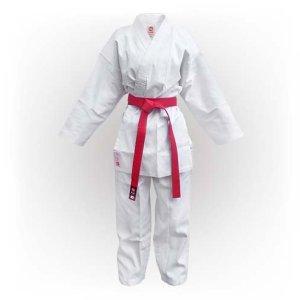 Karate ruha, Saman Kumite, fehér, bordás poly/pamut, 160 méret