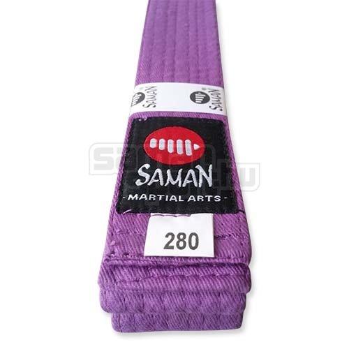 Öv, Saman, pamut, lila, 200 méret
