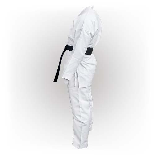Karate ruha, Saman, Elite karate ruha, öv nélkül, fehér