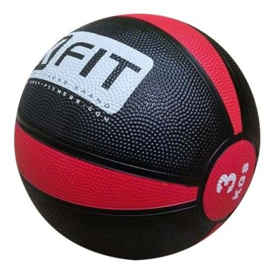 Medicine ball, XFIT, rubber, 3kg