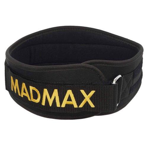 """Súlyemelő öv, Madmax, Body Conform 5"""", fekete"""