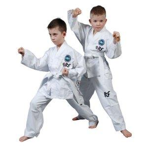 Taekwondo uniform, Top Ten, Kyong, ITF, white