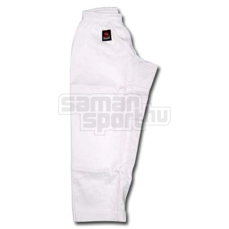 d21ca6d396 Karate nadrág, Saman, Hanami, gumis, fehér | SamanSport.hu