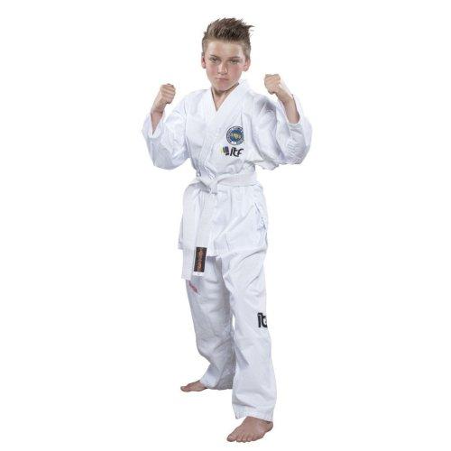 "Taekwond-Do Dobok ""De-Luxe"" (ITF approved) - white, 120 cm méret"