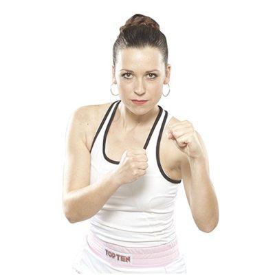 Boxing shirt, for women, TOP TEN, white