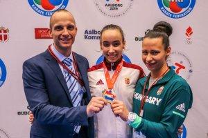 Magyar aranyérem a korosztályos karate Eb-n