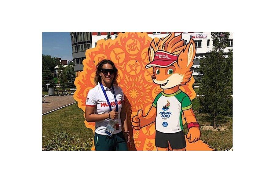Budai Vivien sikeres bemutatkozása Minszkben