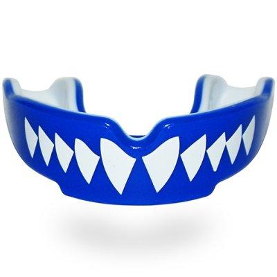 Mouthguard, SAFEJAWZ, Shark, Gel, Blue