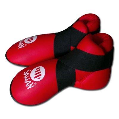 Kick boot, Saman, PU, red