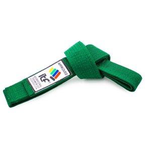 """Taekwon-Do belt """"ITF"""" - green"""