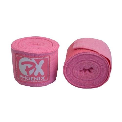 Bandázs, rugalmas, pink, 1 pár