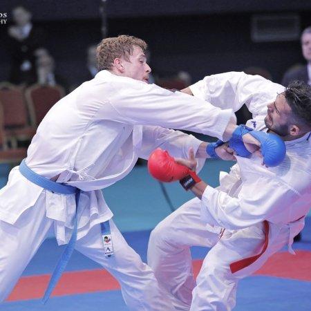 A karatés Hárspataki Gábor olimpiai kvalifikációs érme