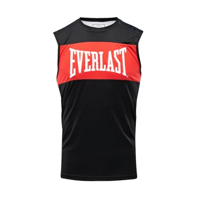 Boxing vest, Everlast, Jab, male, black-red
