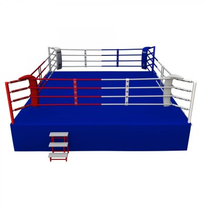 Competition Boxing Ring, Saman, 6x6m, 4 soros