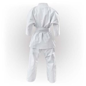 Kyokushin Karate Uniform, Saman, white, canvas