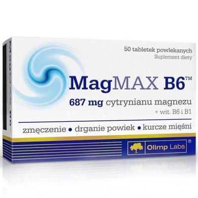 Olimp, MagMAX B6, vitamin, 50 kapszula