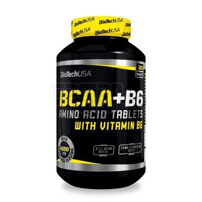 Biotech, BCAA+B6 Aminosav-vitamin, 200 tabl.