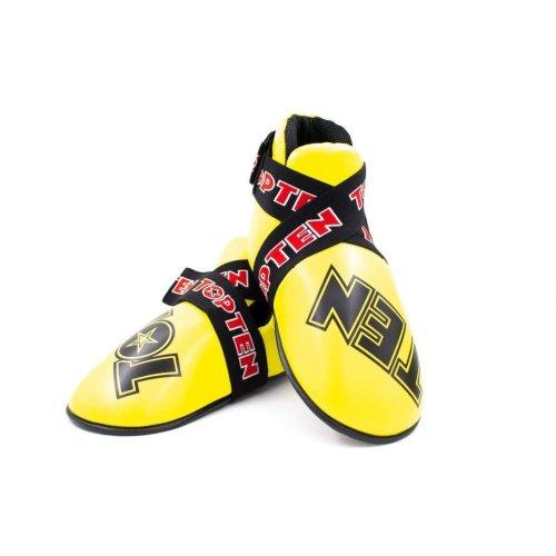 Lábfejvédő, Top Ten, Super Light, WAKO, Citromsárga szín, XS méret