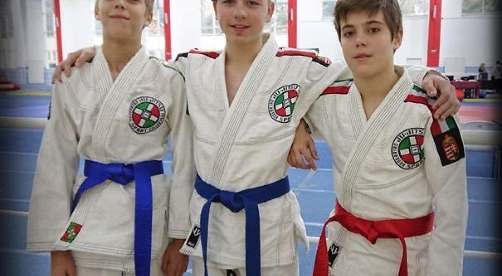 Európa-szerte remekeltek a ju-jitsus fiatalok