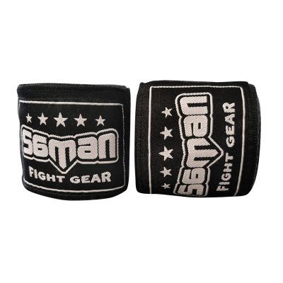 Bandage, Saman, 350 cm, flexible, black