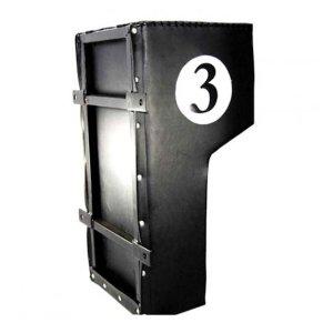 Wall punching bag Hammerhead, ca. 62x30x20-35cm