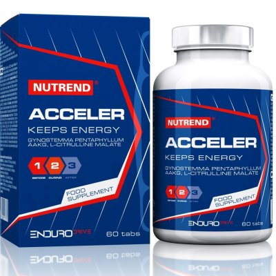 Nutrend, Acceler, teljesítménynövelő, 60 tabletta