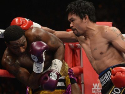 Pacquiao simán nyert, de Broner vitatja
