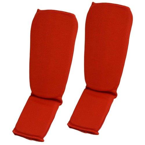 Lábfejes lábszárvédő, Phoenix, pamut, Piros szín, L méret