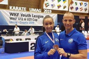 Két karatés bronz az ifjúsági világkupán