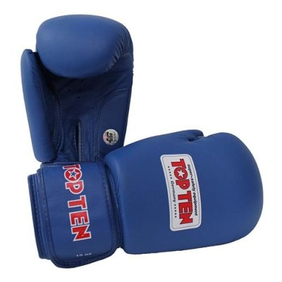 Boxing gloves, Top Ten, AIBA, blue