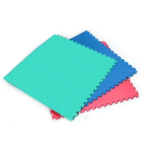 Karate és Judo Tatami, Basic Puzzle, egy színű, kék, 1m*1m*2cm méret