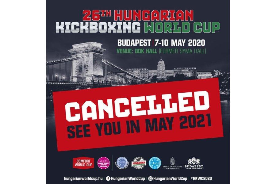 Elmarad a májusi budapesti kick-box világkupa