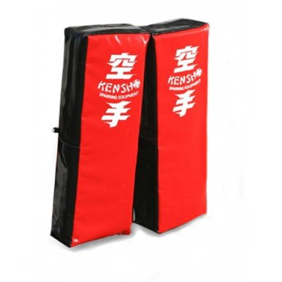 Forearm shield, Kensho, PU, red-black / pair