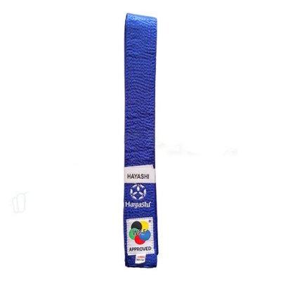 Karate öv, Hayashi, WKF, kék