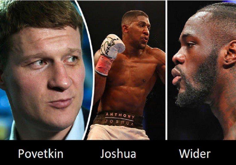 A WBA elrendelte a Joshua-Povetkin meccset