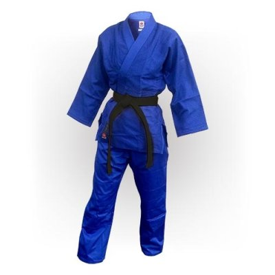 Judo uniform, Saman, Advanced, cotton, blue