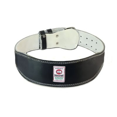 Weight-lifter belt, Saman, extruded leather