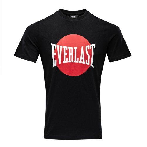 Póló, Everlast, Numata, férfi, Fekete szín, L méret