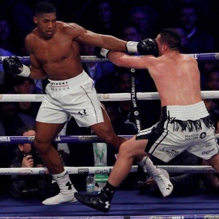 Joshua legyőzte Parkert