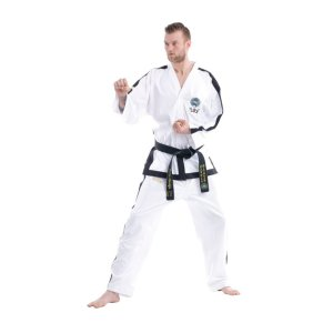 "Taekwon-Do Instructor Dobok ""Premium Gold"" (4th - 6th Dan) (ITF approved)"