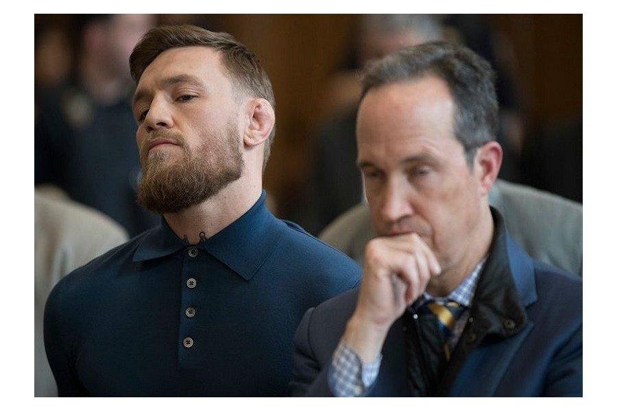 McGregor kész elismerni a bűnösségét
