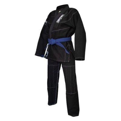 Ju-Jitsu ruha, Saman Kid, 350g, fekete