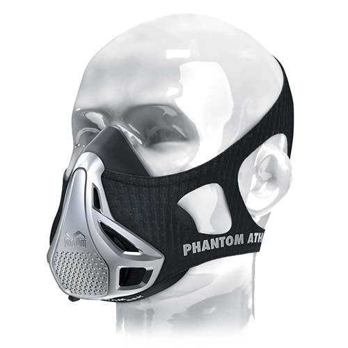 Phantom Training mask, black, silver
