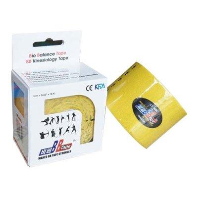 Kineziológiai szalag, Bio Balance, 5cm*5m, citrom