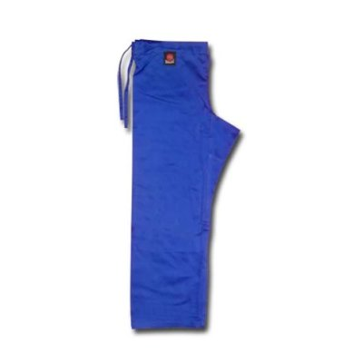 Judo trousers, Saman, cotton, blue