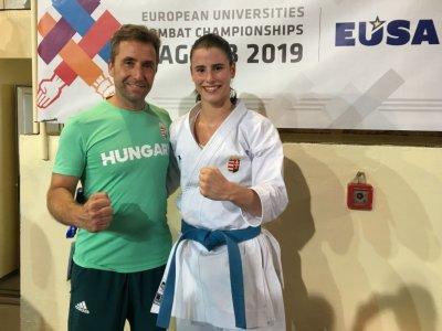 Egyetemi Európa-bajnok lett a karatés Nagy Botond