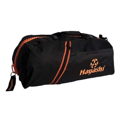 Sportbag/backpack combo, Hayashi, black / orange, large