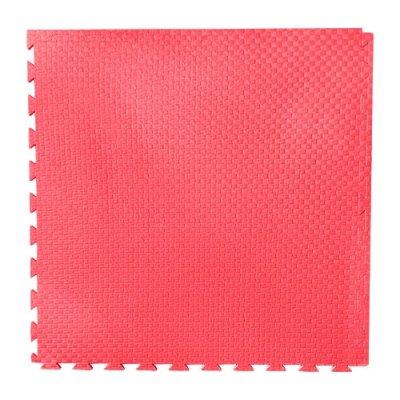 Karate és Judo Tatami, Basic Puzzle, egy színű, piros
